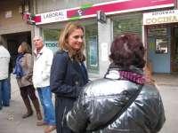 Susana Sumelzo (PSOE) inicia una campaña