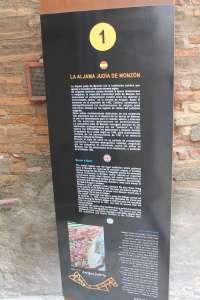 El Ayuntamiento de Monzón señaliza la antigua judería de la localidad