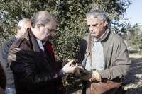 Lambán apuesta por crear la marca Aragón para comercializar la trufa