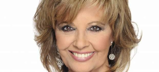 Imagen de la presentadora María Teresa Campos.