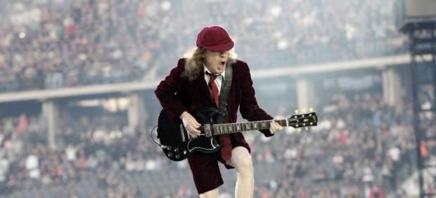 Angus Young, de AC/DC.