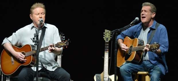 Don Henley y Glenn Frey, de Eagles.