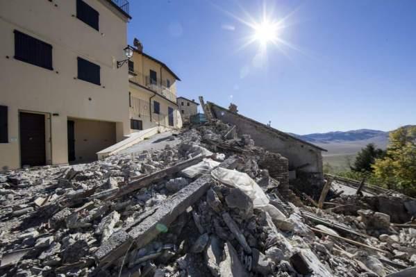 Resultado de imagen para terremotos en italia 2017