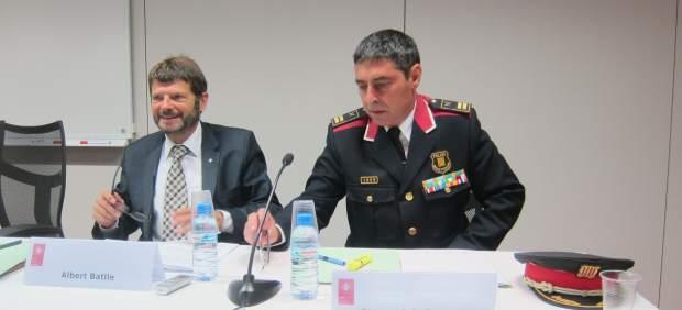 Albert Batlle y Josep Lluís Trapero.
