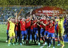 Resultado de imagen de santi denia campeon europa sub17