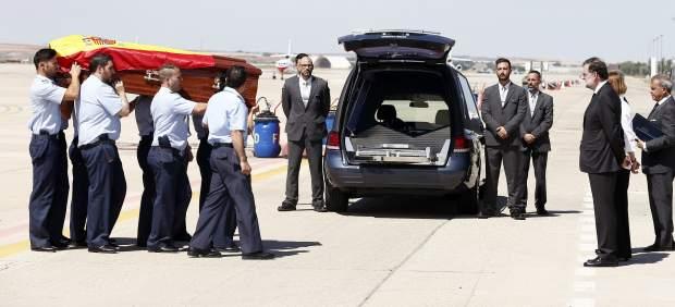 El cuerpo de Echeverría llega a España