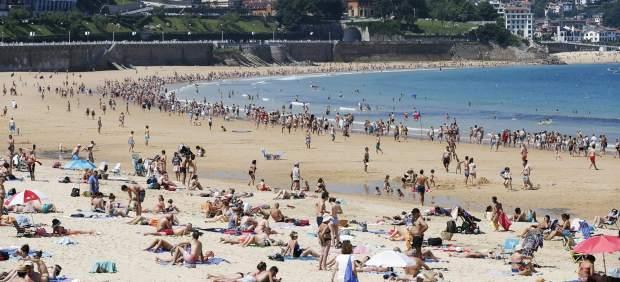 Calor en San Sebastián