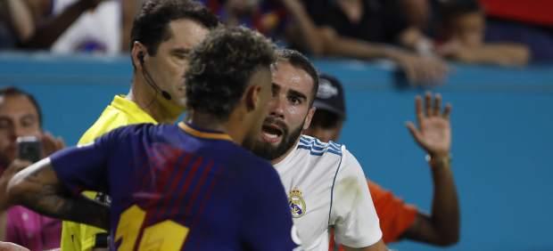 Neymar y Carvajal