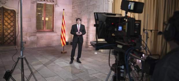 Discurso Carles Puigdemont por la Diada 2017