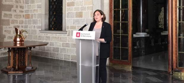 La regidora de Barcelona, Ada Colau.