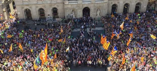 Recepción de alcaldes en el municipio de Barcelona