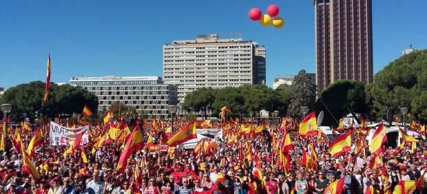 Manifestación en Colón