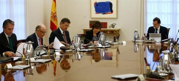 Rajoy encabeza la asamblea del Consejo de Ministros Extraordinario