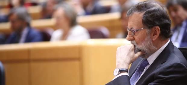 Rajoy continúa el pleno en el Senado sobre el artículo 155