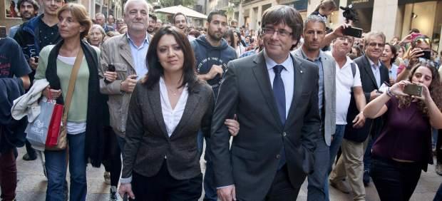Puigdemont en Girona
