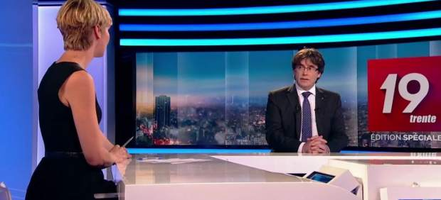 Entrevista a Puigdemont
