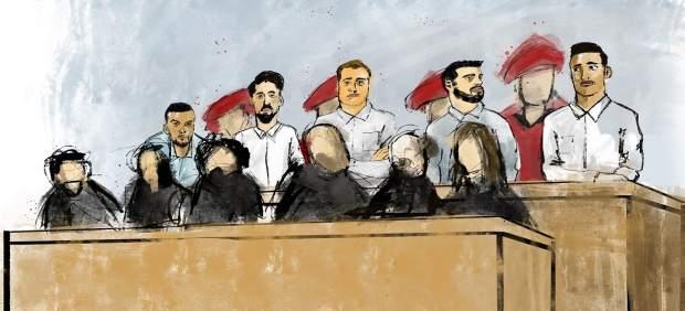 La Manada en el juicio