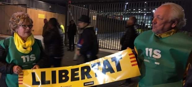 Banderola libertad independentistas