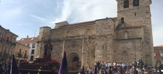 Semana Santa. Procesión el Jueves Santo en Zamora