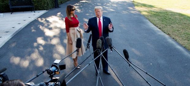 El presidente Trump pone rumbo a Europa