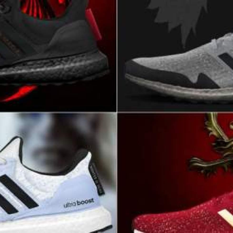 69db78606 Así serán las Adidas de  Juego de tronos  que llegarán en 2019