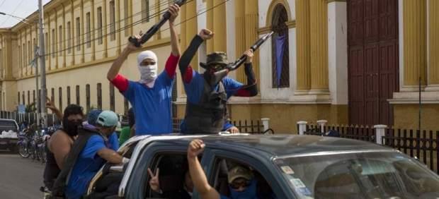 Ogfensiva gubernamental en Masaya, Nicaragua