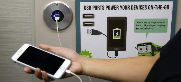 Puerto USB público