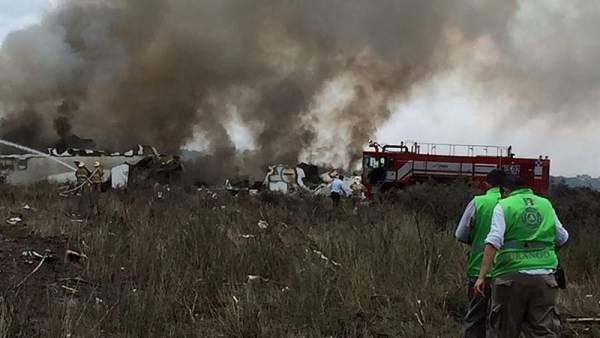 Accidente aéreo en México