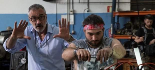 Javier Fesser en el rodaje de la película 'Campeones'