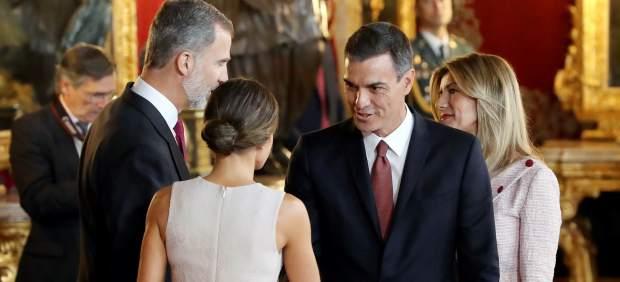Recepción en el Palacio Real el 12 de octubre