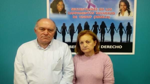 Los padres adoptivos de Maloma