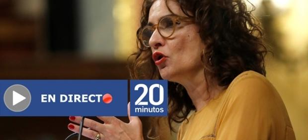 Ministra Montero en el Congreso