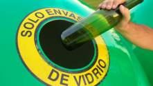 Resultado de imagen de reciclaje vidrio huelva