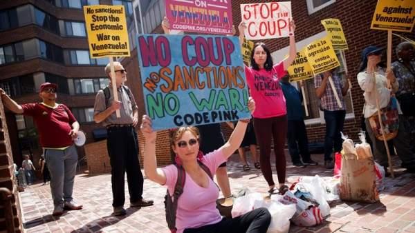 Protesta en EE UU