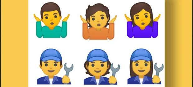 Emojis de género ambiguo