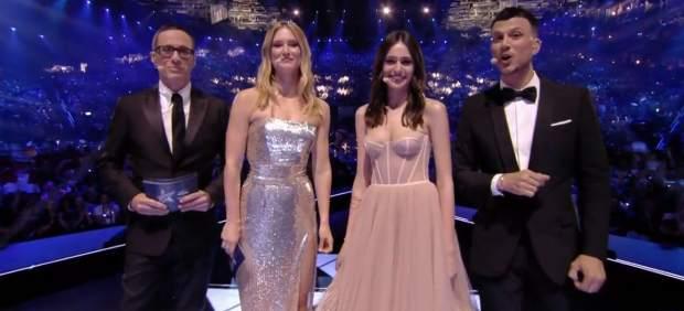 Presentadores de Eurovisión