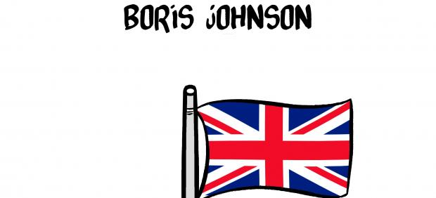 'Boris Johnson', viñeta de Malagón
