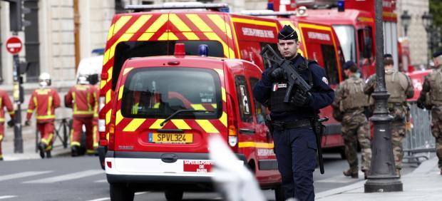 Ataque Jefatura Policía de París