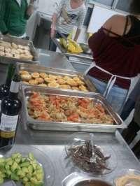La cocina protagonizará la jornada de este martes en el Parque de Navidad Lapislázuli de Fraga