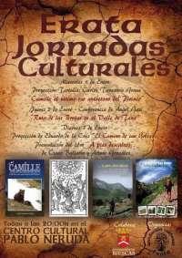 Las Jornadas Culturales de Erata se celebran en Biescas del 1 al 3 de enero