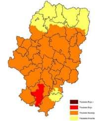 Prealerta Roja por riesgo de incendios forestales en la Comarca Comunidad de Teruel