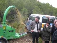 Los aprovechamientos forestales podrían generar más de 8,5 millones de euros en Aragón este año