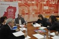 El PSOE-Aragón incorpora a sus programas electorales el Plan contra la Pobreza de UNICEF
