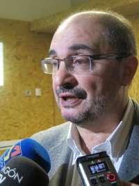 Lambán propone una reforma profunda de la administración pública
