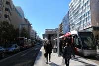 El tranvía traslada a más de 75 millones de viajeros en su dos primeros años