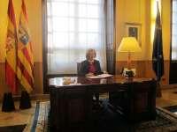 Rudi firma el Decreto de disolución de las Cortes y de convocatoria de elecciones autonómicas