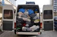Detenidas tres personas en Huesca por sustraer ropa usada de contenedores benéficos