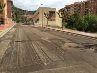 La reparación de la calle Andrés Vives de Alcañiz costará 14.000 euros
