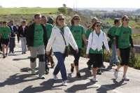 Rudi elogia la labor de ASPACE Huesca y participa en la marcha de la asociación