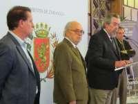 Belloch inicia la lectura colectiva del Día del Libro con un texto de Fernando Aínsa